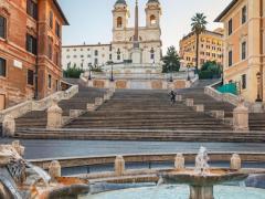 Piazza Di Spagna View