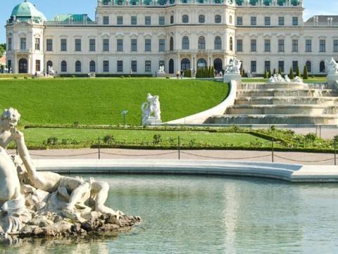 belvedere palace wien